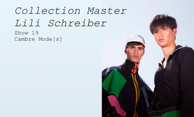 Project visual Collection Master Lili Schreiber