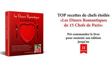 Project visual Les Diners Romantiques de 15 Chefs de Paris