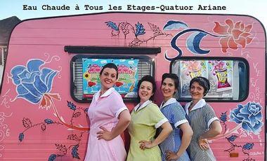 Project visual Le Quatuor Ariane - Avignon 2019