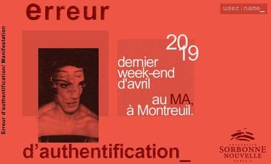 "Project visual Exposition ""Erreur d'authentification"""