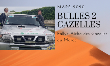 Visueel van project Bulles2Gazelles à la rencontre du désert