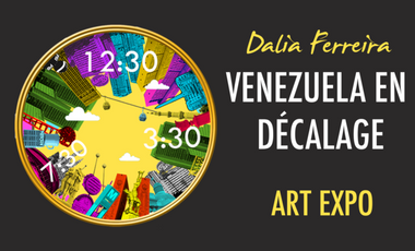 Visueel van project Venezuela en Décalage: an artist in the exile