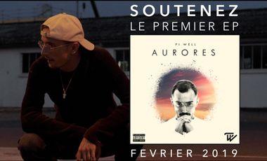 Visueel van project AURORES - Premier EP de Pi-Well