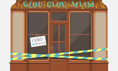 Project visual Glou-Glou-Miam