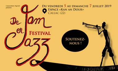 Visueel van project Naissance du festival De Jam en Jazz !