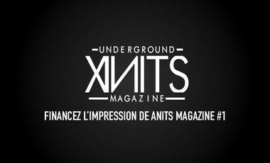Visueel van project ANITS: Underground Magazine