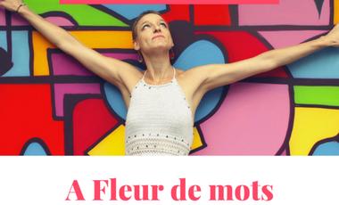 "Visueel van project Mon premier recueil de poésie ""A Fleur de mots"" -Tatiana GEAY-"