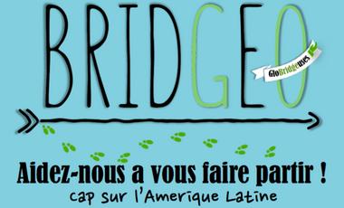 Visuel du projet Bridgeo - Aidez-nous à vous faire partir !