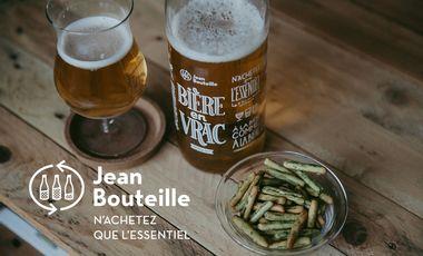Visuel du projet Jean Bouteille et sa nouvelle solution pour une bière pression et zéro déchet !
