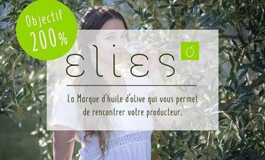 Project visual Elies : la marque d'Huile d'Olive Eco-Responsable