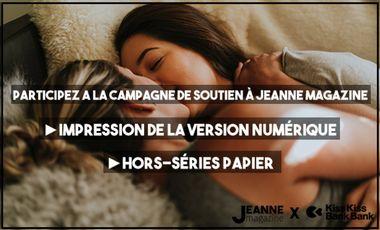 Visueel van project Jeanne Magazine fête ses 5 ans avec de nouveaux projets!