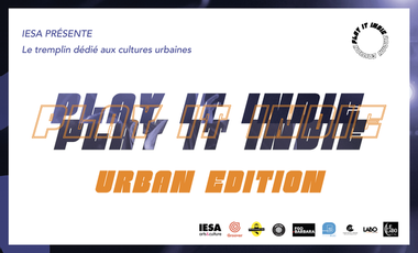 Project visual Tremplin Play It Indie - Urban Edition