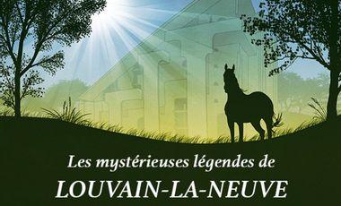 Project visual Les mystérieuses légendes de Louvain-la-Neuve