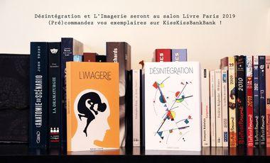 Project visual Désintégration au salon Livre Paris 2019 - 16 et 17 mars 2019