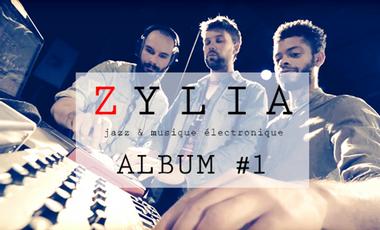 Visueel van project Zylia // 1er album