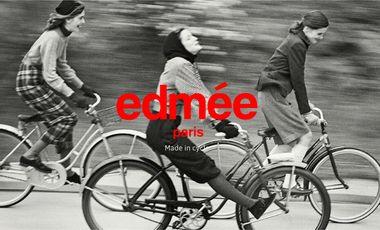 Visueel van project edmée - Vêtements pour femmes urbaines à vélo