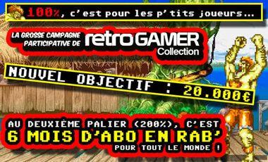 Project visual RetroGamer Collection a besoin de votre soutien