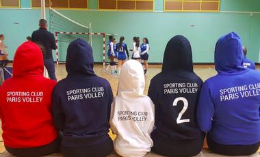 Visuel du projet Sporting Club Paris Volley