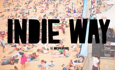 Visueel van project Indie Way - un documentaire sur La Route Du Rock