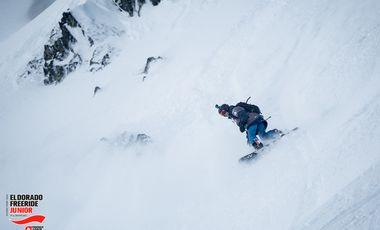 Project visual Championnats du monde de snowboard freeride.
