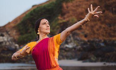 "Visueel van project ""Aanandam - La Joie Céleste""     -     Récital de Bharata Natyam"
