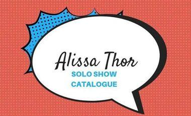 Visuel du projet Catalogue peinture Alissa Thor 2019
