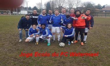 "Project visual "" ""Joga Ecolo : tous en maillots eco-friendly "" du FC Watermael !"