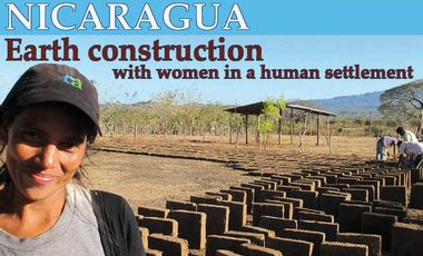 Project visual Nicaragua : construire en terre avec les femmes d'un bidonville