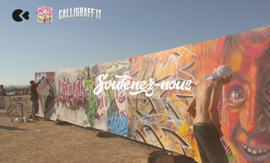 Project visual Calligraff'it - Evénements street art 2019