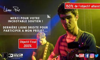 """Project visual """"Pierre angulaire"""", Premier Album de Léone Paz"""