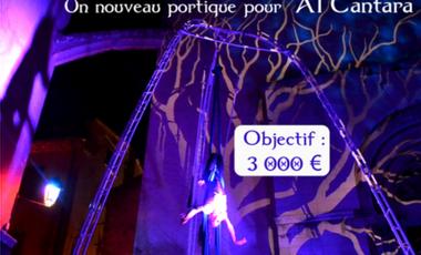 Project visual Un portique pour Al Cantara