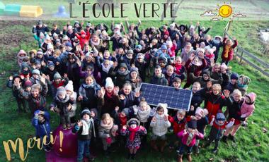 Visueel van project L'école Saint-Henri Houthem en photovoltaïque