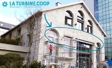 Visuel du projet La Turbine.coop, explorons un autre numérique à Grenoble !