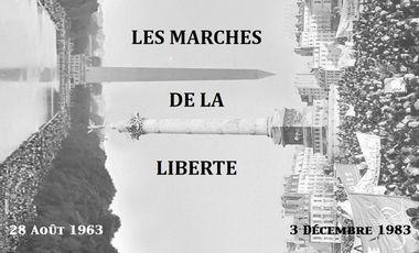 Project visual LES MARCHES DE LA LIBERTÉ