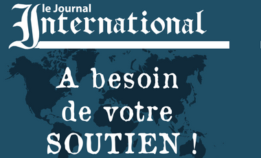 Visueel van project Le Journal International – support another way to cover the international events