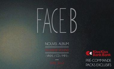 """Visueel van project FACE B """"deuxième round"""" Nouvel Album"""