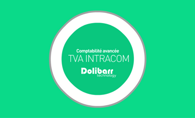 Project visual Dolibarr, TVA intracommunautaire / Export