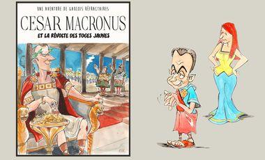 Visueel van project César Macronus et la révolte des toges jaunes