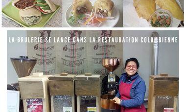 Visueel van project La Brulerie du Lys se lance dans la restauration colombienne !