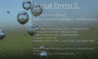 Visuel du projet J'ai tué Emma S.