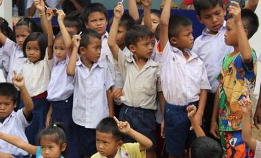 Project visual De l'eau pour des enfants laotiens