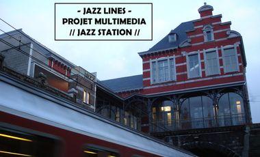 Visueel van project JAZZ LINES - nouveau projet multimédia et collaboratif à la Jazz Station !