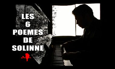 Project visual Enregistrement Ep «Les 6 poèmes de Solinne»