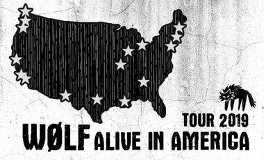 Visueel van project WØLF Alive in America!