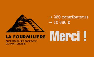 Project visual La Fourmilière - supermarché coopératif de Saint-Étienne