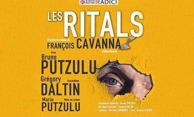 """Visueel van project Théâtre """"Les RITALS"""", CAVANNA à CHAUMES en BRIE"""