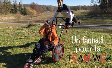 Visueel van project Un fauteuil pour la Team Wez