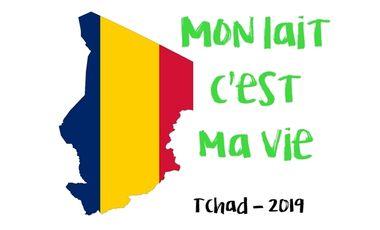 """Visueel van project """"Mon lait c'est ma vie"""" - Tchad 2019"""
