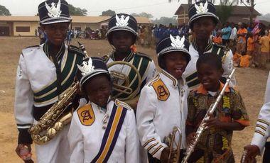 Project visual L'orchestre à l'école-Cameroun/Achat d'instruments de musique