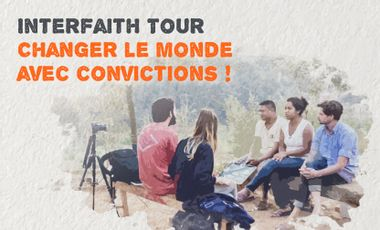 Project visual InterFaith Tour - Changing the world with convictions!